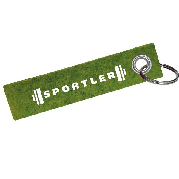 Schlüsselanhänger Sportler