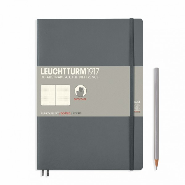 Notizbuch Composition B5 Grey