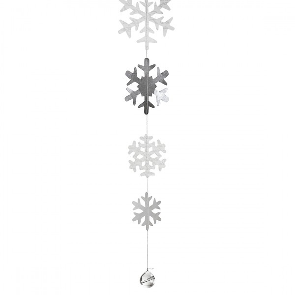 Schneeflockenkette – Kleine Schneeflocken
