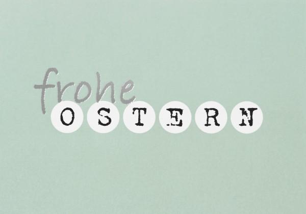 Postkarte Ostern