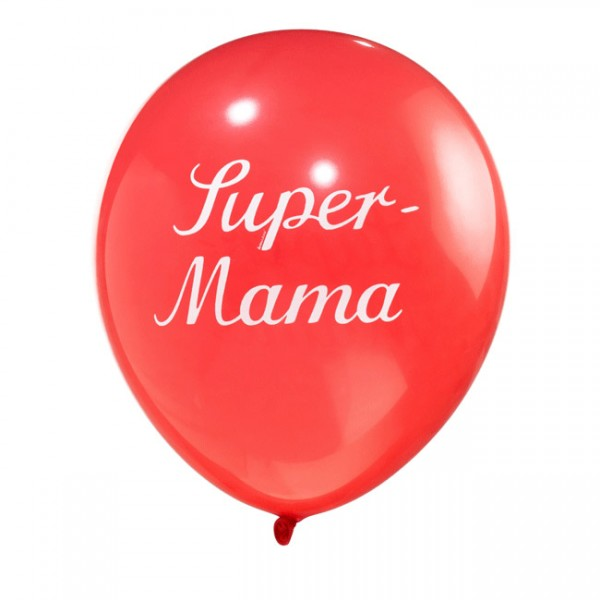Luftballon Super Mama