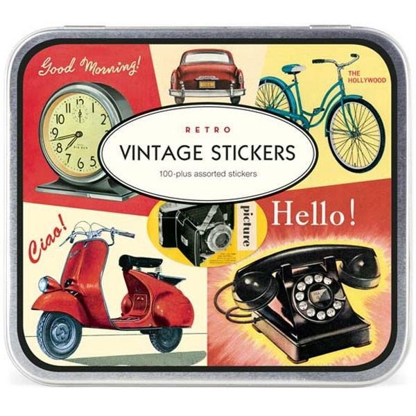 Vintage Sticker Set