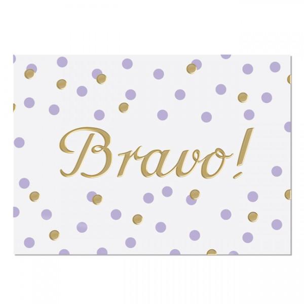 Postkarte Bravo