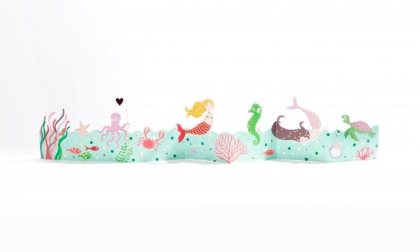 Kinder-Tischgirlande – Meerjungfrau