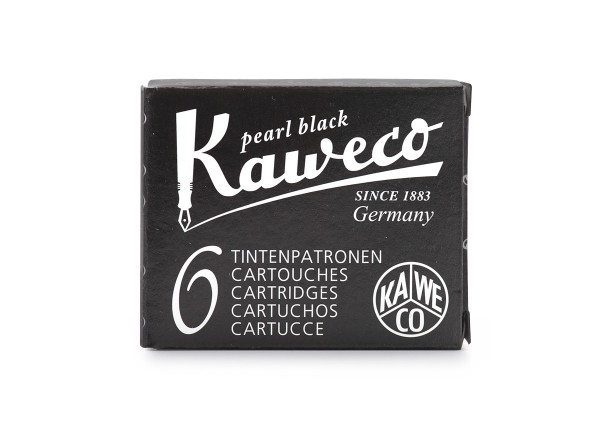 Kaweco Tintenpatronen pearl black
