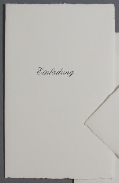 Karte Einladung