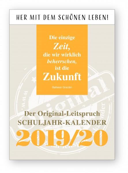 Original-Leitspruch-Schuljahr-Kalender 19/20