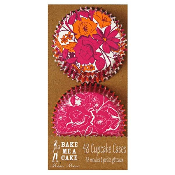 Cupcake Floral pink/orange