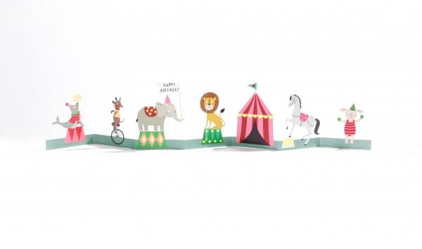 Kinder-Tischgirlande – Zirkus