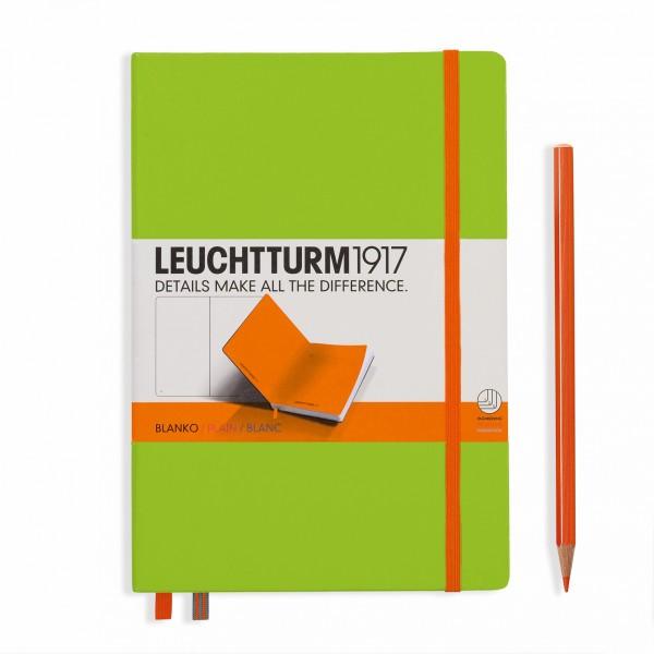 Notizbuch Bicolore grün/Orange