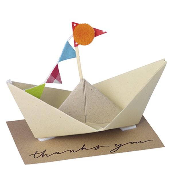 Karte Geschenkboot Thank you