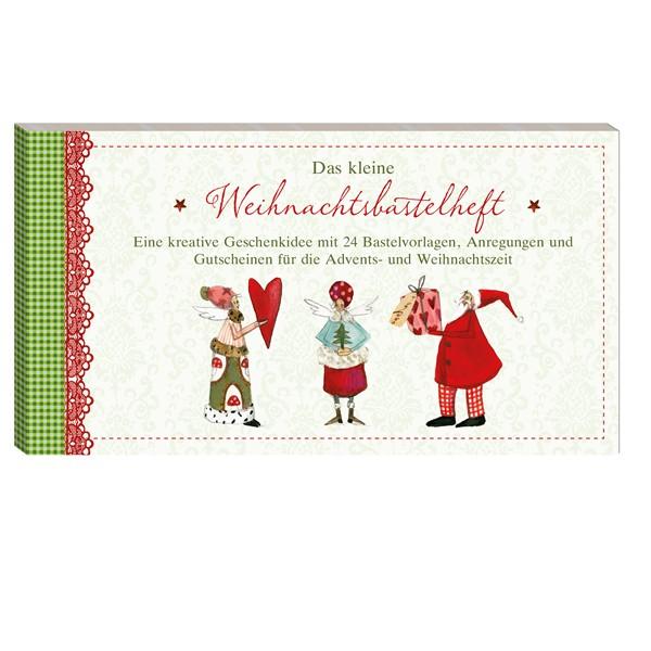 Gutscheinbuch-Weihnachtsbastelheft