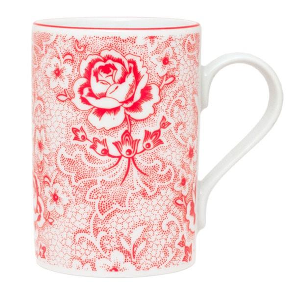 Tasse Rosen Rot