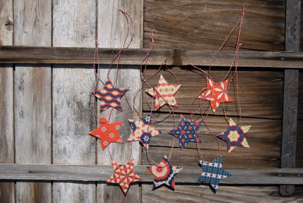 Geschenkanhänger Sterne Marlies