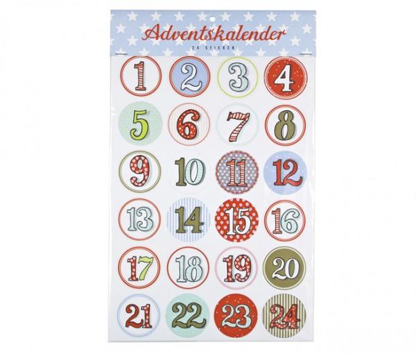 Sticker Adventskalender