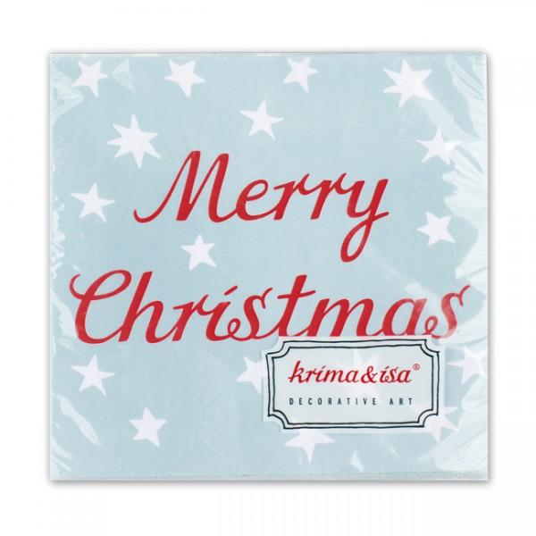 Serviette Merry Christmas