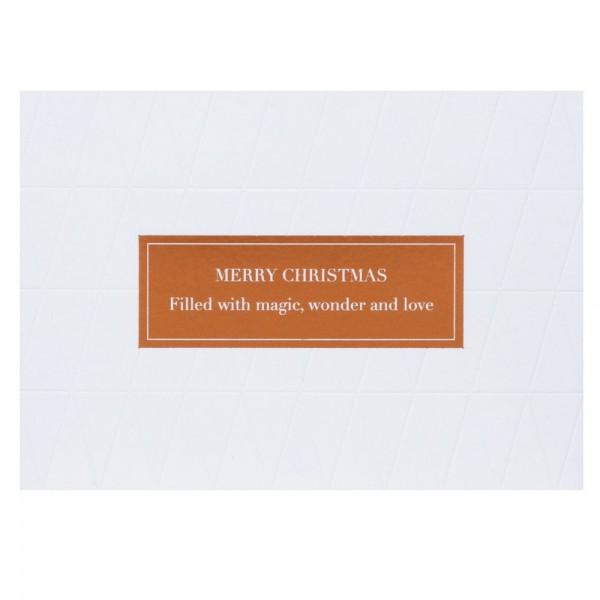 Weiße Weihnacht Merry Christmas