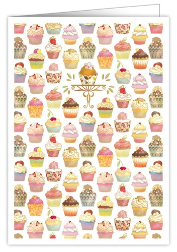 XL Karte Cupcakes