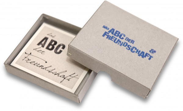 Das ABC der Freundschaft