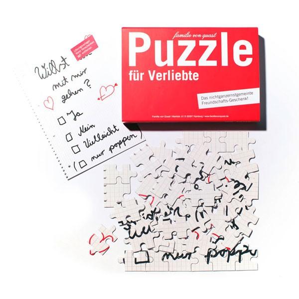 Puzzle für Verliebte