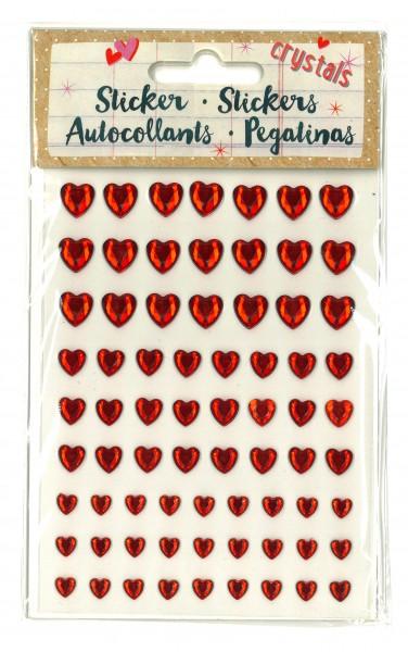 Crystal-Sticker Herz