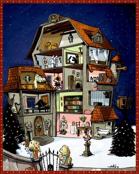 Adventkalender Finde den Weihnachtsschatz