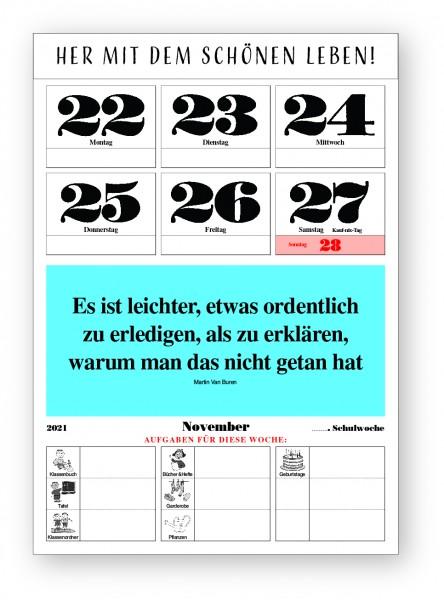 Original-Leitspruch-Schuljahr-Kalender 21/22