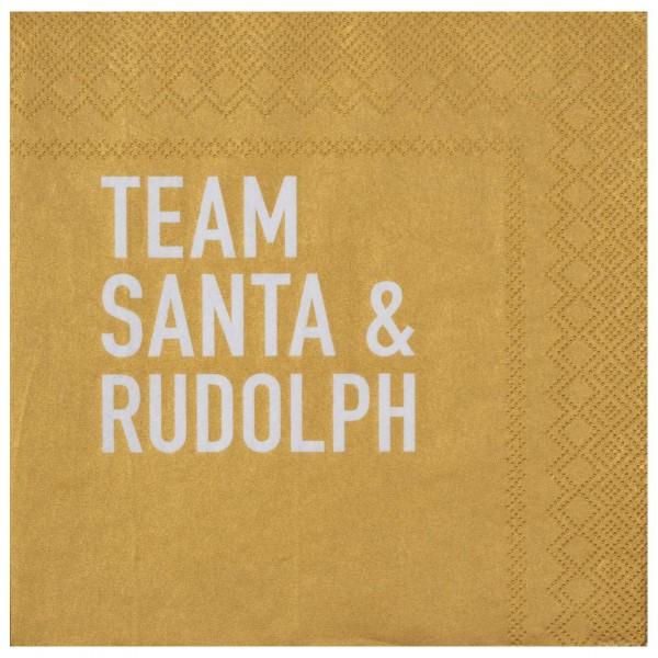 Servietten – Team Santa …