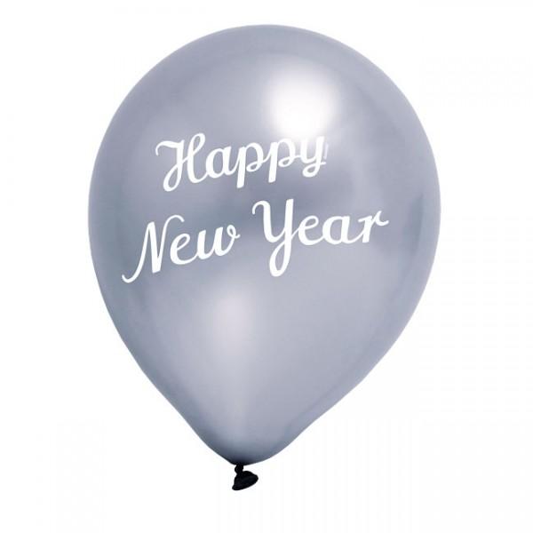Luftballon Happy New Year