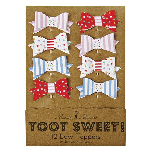 TOOT SWEET Toppers