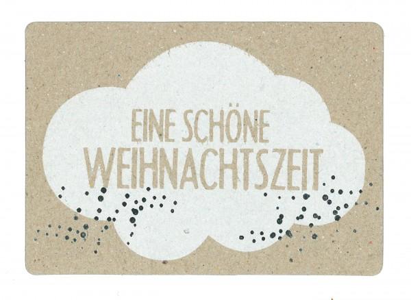 Winter Postkarte