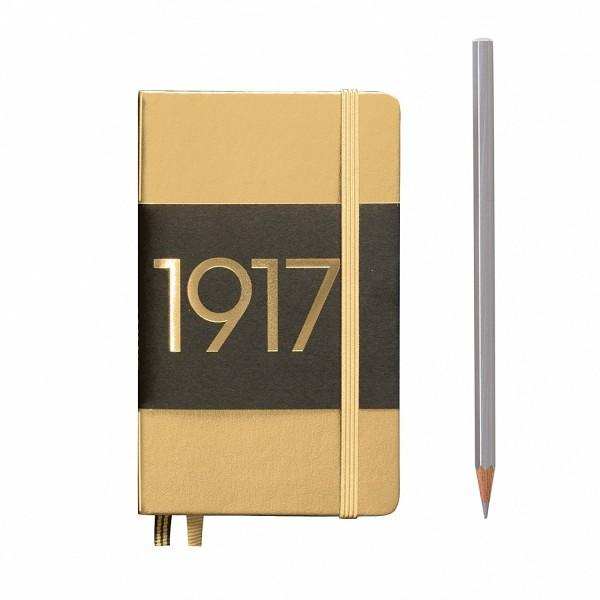 Notizbuch Pocket Gold
