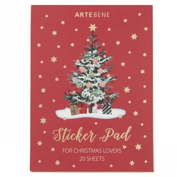 Stickerblock Weihnachten