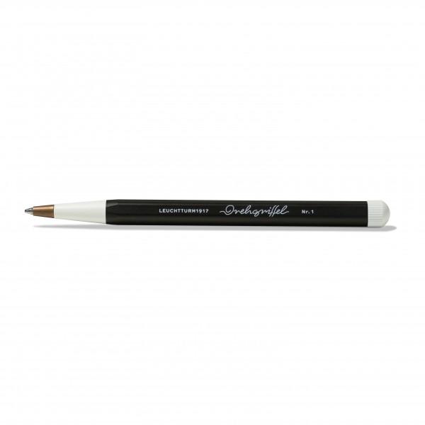 Drehgriffel Kugelschreiber schwarz