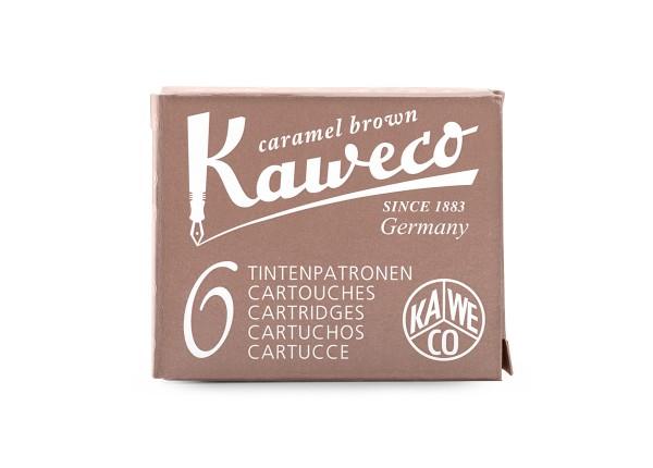 Kaweco Tintenpatronen caramel brown