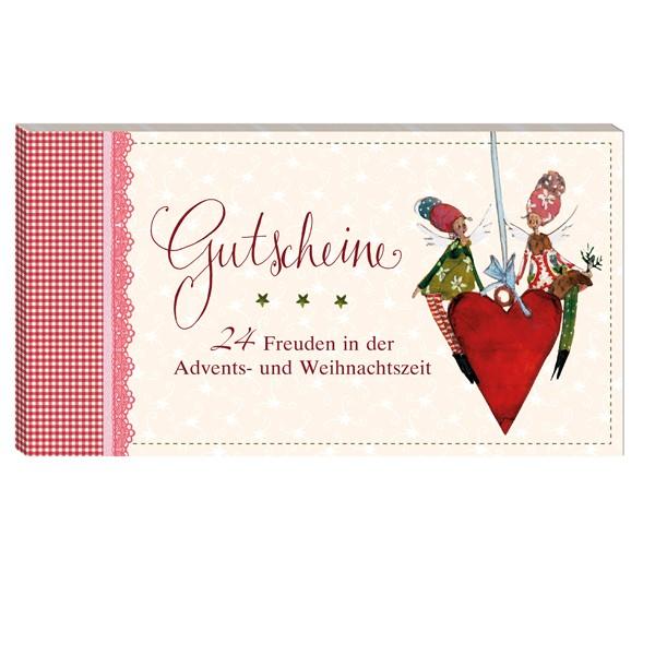 Gutscheinbuch-Gutscheine 24 Freuden