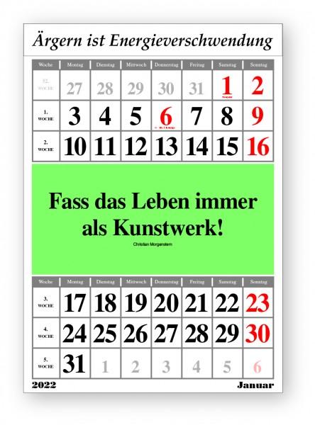 Original-Leitspruch-Monats-Kalender 2022